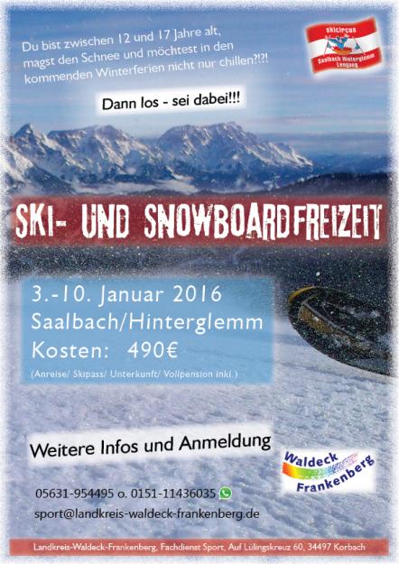 Werbung Ski 2016